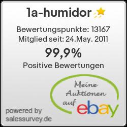 Auktionen und Bewertungen von 1a-humidor
