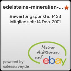Auktionen und Bewertungen von edelsteine-mineralien-shop