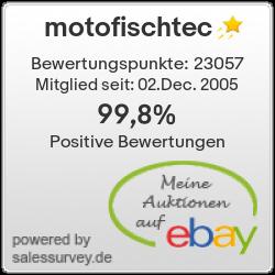 Händler motofischtec - Unsere Ebay-Bewertungen