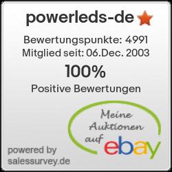 Auktionen und Bewertungen von powerleds-de