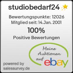 Auktionen und Bewertungen von studiobedarf24