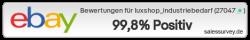 Auktionen und Bewertungen von luxshop_industriebedarf
