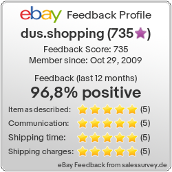 Auctions and Feedback of dus.shopping