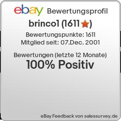 Auktionen und Bewertungen von brinco1