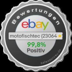 Unsere Händler-Bewertungen auf EBAY - MOTOFISCHTEC ist ein Händlername der Motorgeräte Fischer GmbH Lahr