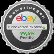 Auktionen und Bewertungen von zuendkerzen-express