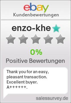 Auktionen und Bewertungen von enzo-khe