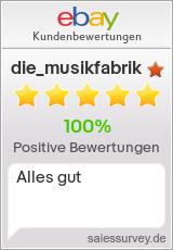Auktionen und Bewertungen von die_musikfabrik